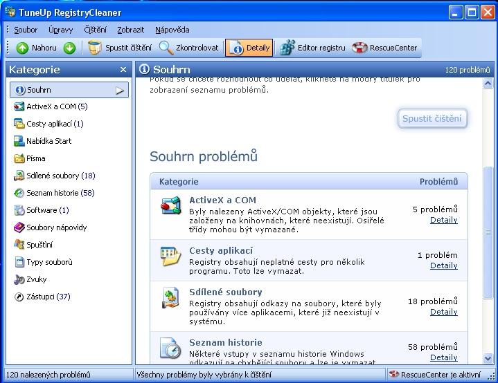 TuneUp RegistryCleaner - 2 - $uch@rC – www.casopis-oci.xf.cz