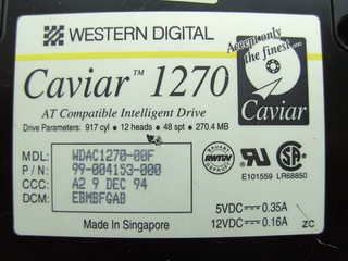 Western Digital Caviar AC1270F - for http://vseohw.net by $uch@rC